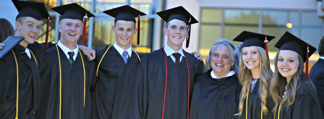 Heidi & graduates