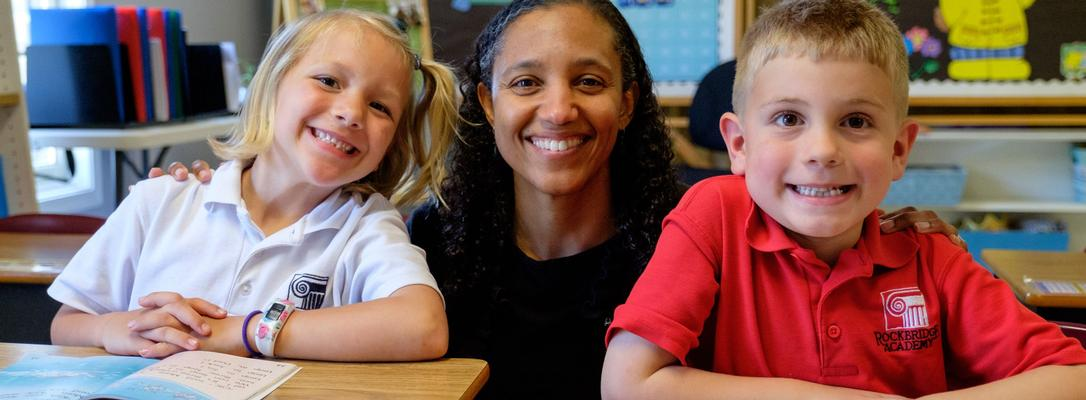 tammy and kindergarteners